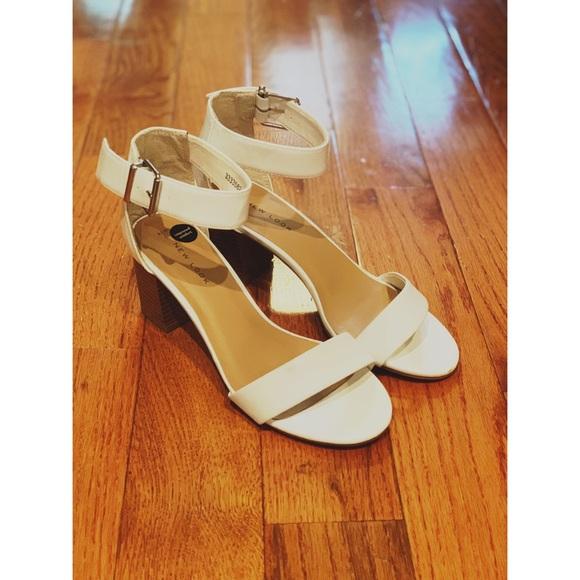 White Sandal Block Heels | Poshmark
